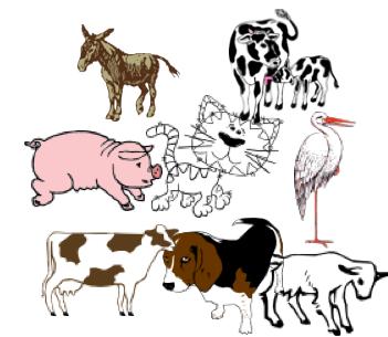 Lerne die Tiere auf dem Bauernhof!