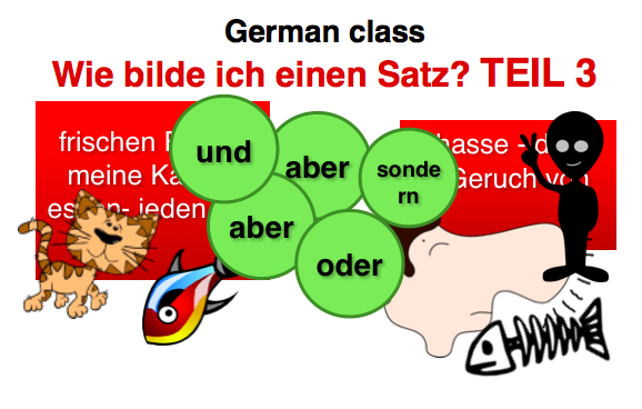 How to build a german sentence