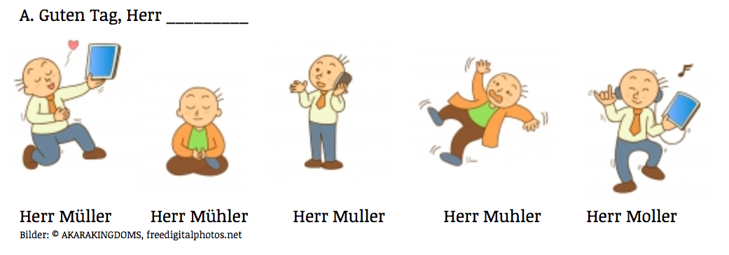 German pronunciation: German vowels