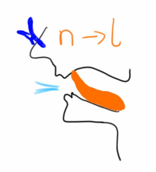 pronounciation n l