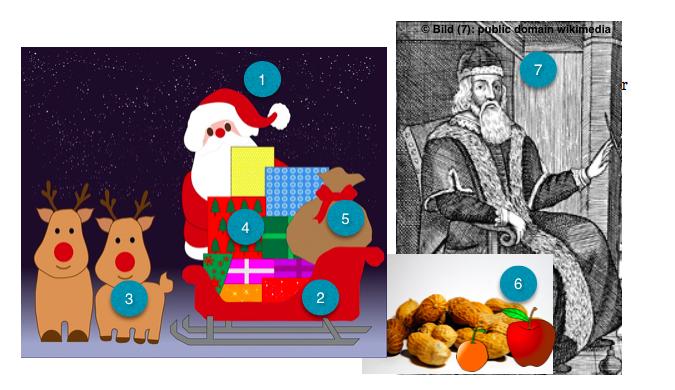 DaF Weihnachten : Unterrichtsmaterialien : Arbeitsblu00e4tter