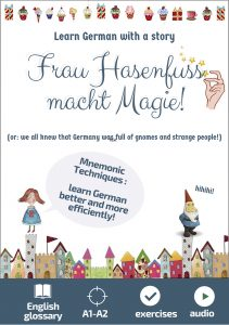 learn german with a story for beginners. Grammar, mnemonic techniques