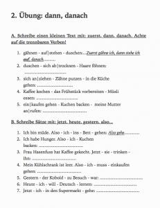 German ebook beginners excercises