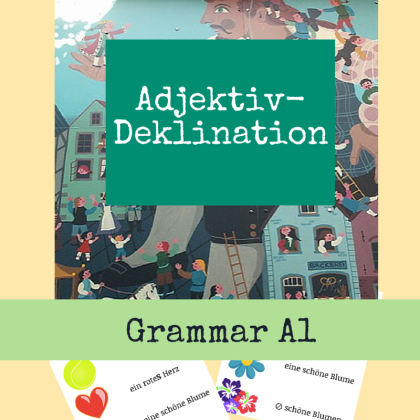 German Course Adjective declination