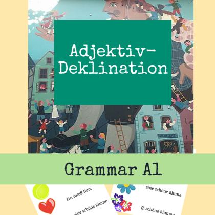 German Course Adjective declination