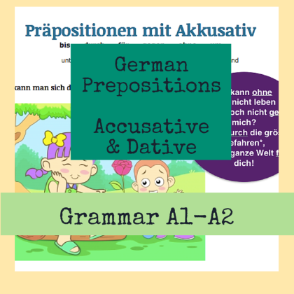 Dative and Accusative Prepositions