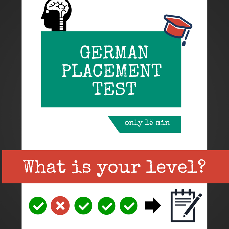 German Placement Test - Online & For Free