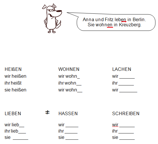 free-german-lessons-verben-im-plural