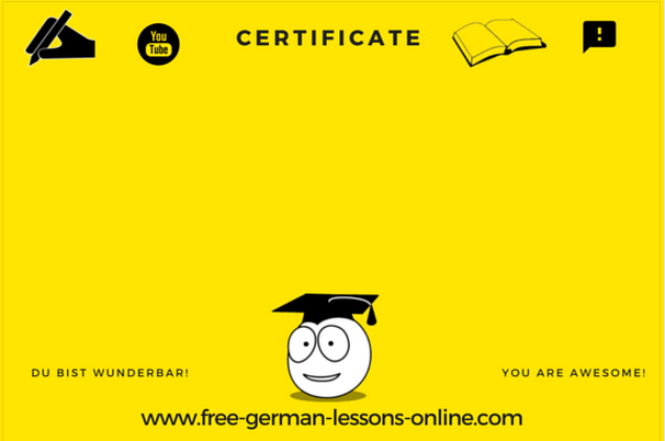 free german lessons welcome free german courses. Black Bedroom Furniture Sets. Home Design Ideas