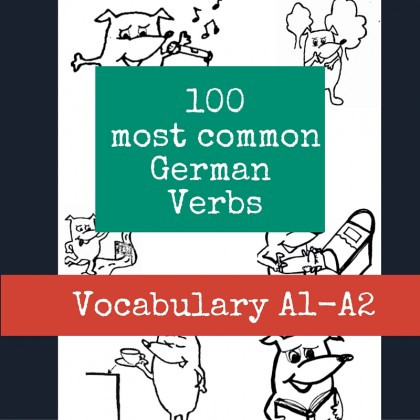 100 most common German Verbs