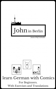 Cover Learn German with a comic