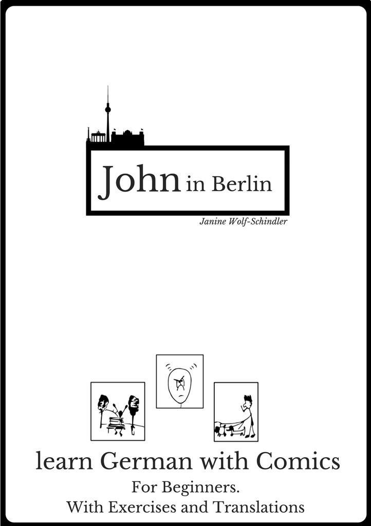 learn german with a comic john in berlin. Black Bedroom Furniture Sets. Home Design Ideas