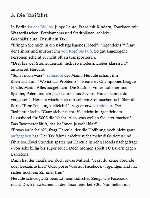 preview Krimi in Berlin learn German